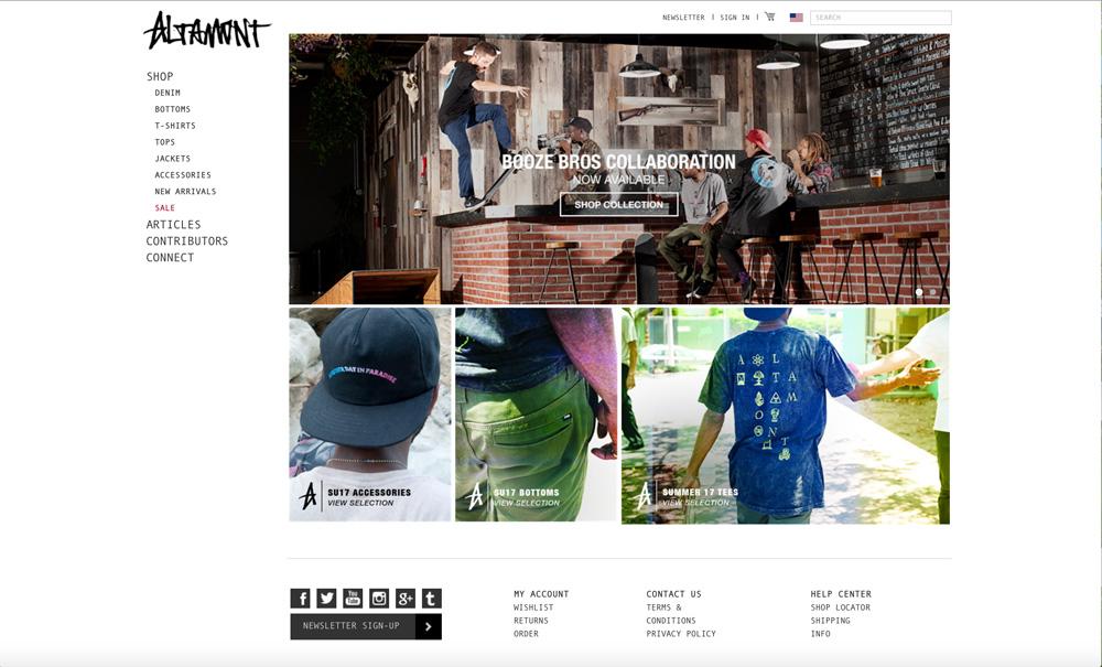 ALTAMONTオルタモント公式サイト