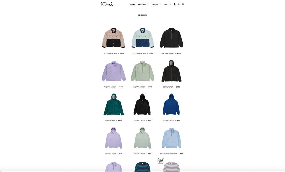 Polar Skate Co(ポーラー)公式サイト
