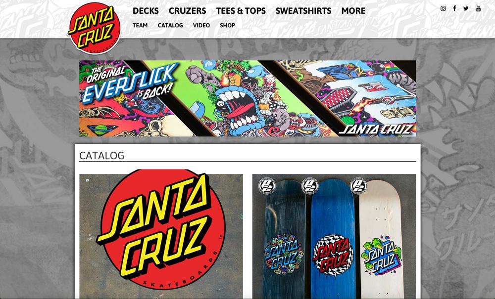 SANTA CRUZ(サンタクルーズ)公式サイト