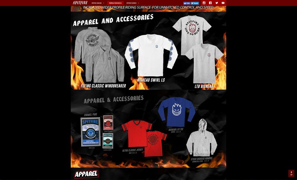 SPITFIRE(スピットファイヤー)公式サイト