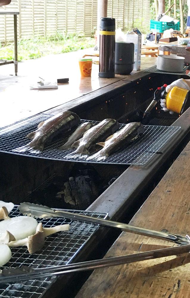 BerryPark in FISH ON!王禅寺はバーベキュー施設もある