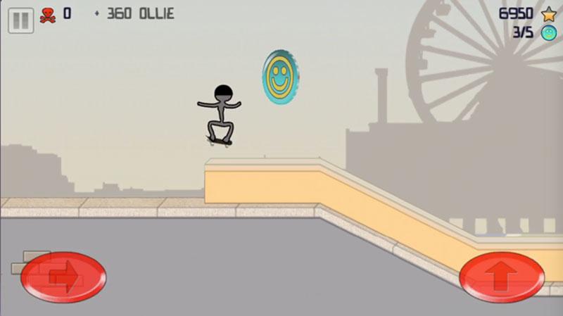 Stick Skater360オーリー