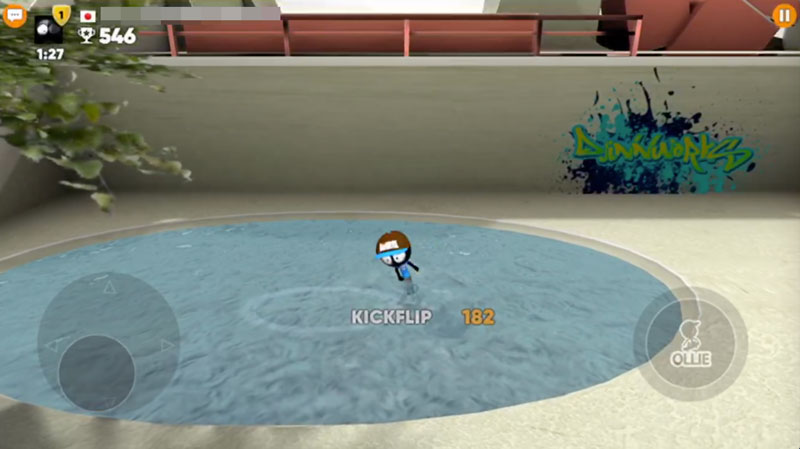 Stickman Skate Battle 池ぽちゃもあり