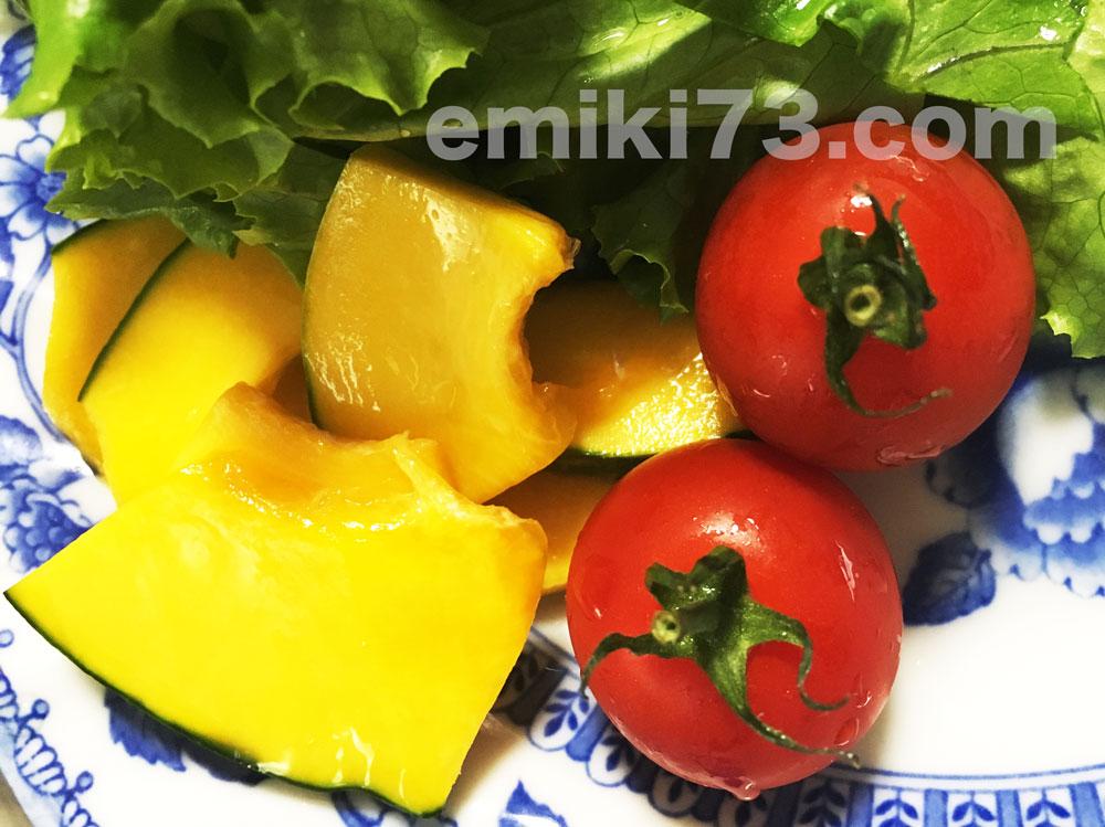 オイシックスのミニトマトとかぼっコリー
